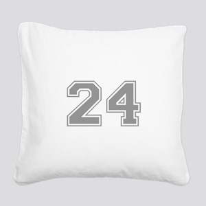 24 Square Canvas Pillow