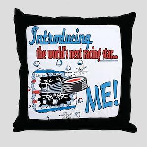 Future Racing Star Throw Pillow