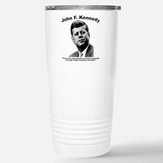 JFK Revolution Stainless Steel Travel Mug