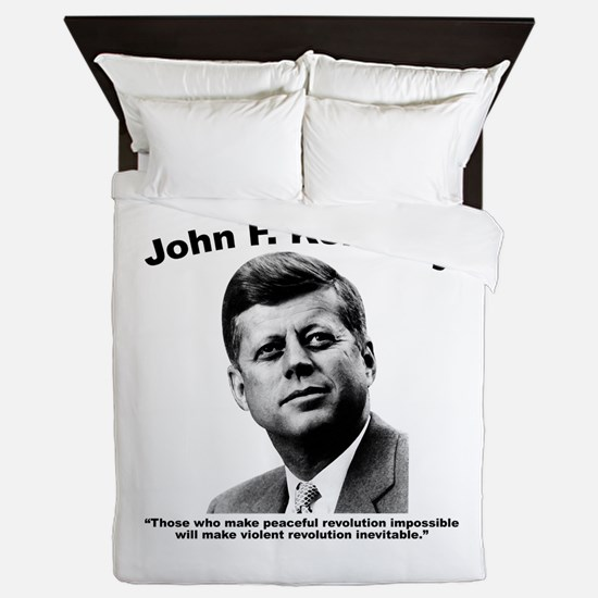 JFK Revolution Queen Duvet