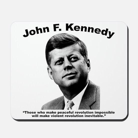 JFK Revolution Mousepad