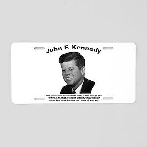 JFK Conservatives Aluminum License Plate