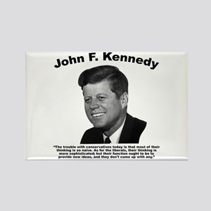 JFK Conservatives Rectangle Magnet