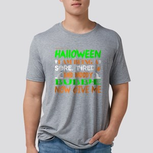 This Halloween Being Tired Moody Bubbie Ca T-Shirt