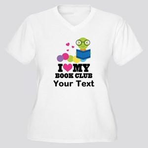 I Love My Book Club Plus Size T-Shirt