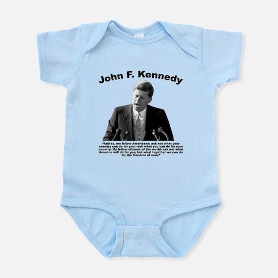 JFK Ask Not Infant Bodysuit