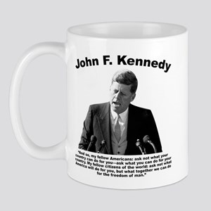 Jfk Ask Not Mug Mugs