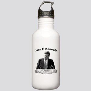 JFK Ask Not Stainless Water Bottle 1.0L