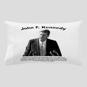 JFK Ask Not Pillow Case