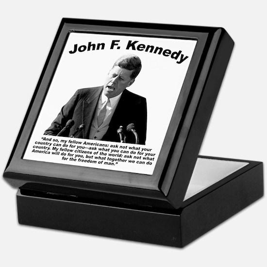 JFK Ask Not Keepsake Box