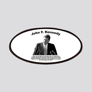 JFK Ask Not Patches