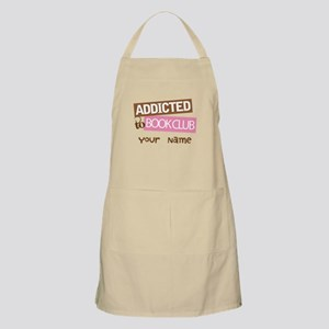 Addicted to Book Club Apron