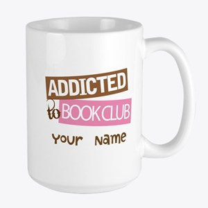 Addicted to Book Club Mugs