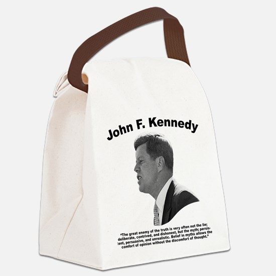JFK Truth Canvas Lunch Bag