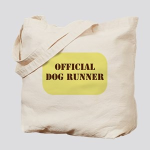 Official Dog Runner Tote Bag
