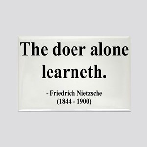 Nietzsche 14 Rectangle Magnet