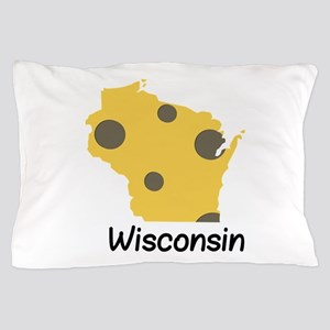 State Wisconsin Pillow Case