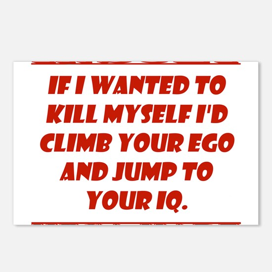 If I Wanted to Kill Myself Postcards (Package of 8