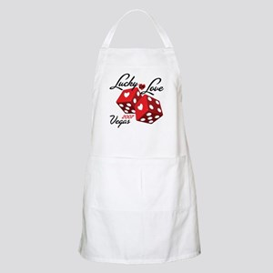 Lucky in Love BBQ Apron