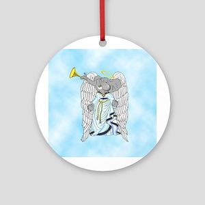 George the Angelephant Christmas Ornament