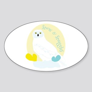Snow & Snuggles Sticker