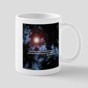 Matthew 2:2 Star of Christmas Mug