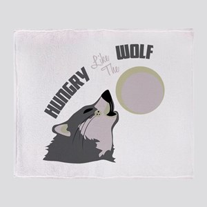 HOWL AT THE MOON Throw Blanket