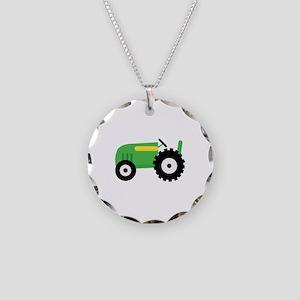 Farming Tractor Necklace
