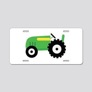 Farming Tractor Aluminum License Plate