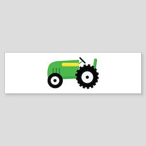 Farming Tractor Bumper Sticker