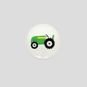 Farming Tractor Mini Button