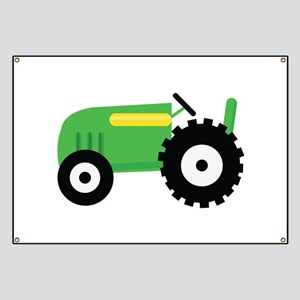 Farming Tractor Banner