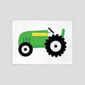Farming Tractor 5'x7'Area Rug