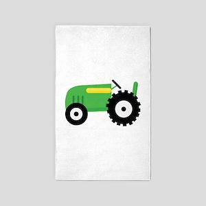 Farming Tractor Area Rug