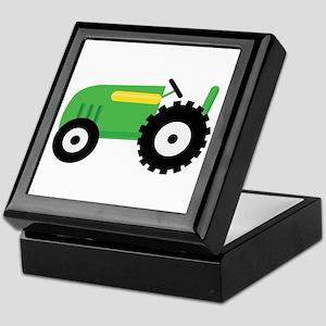 Farming Tractor Keepsake Box
