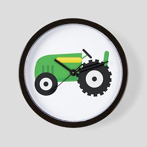 Farming Tractor Wall Clock