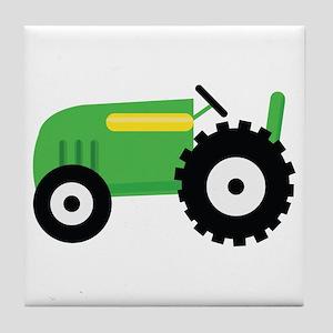 Farming Tractor Tile Coaster