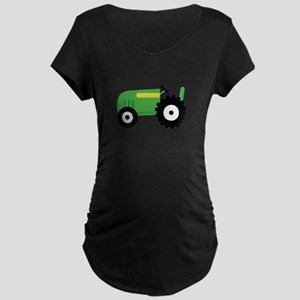 Farming Tractor Maternity T-Shirt