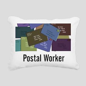 Postal Worker Rectangular Canvas Pillow