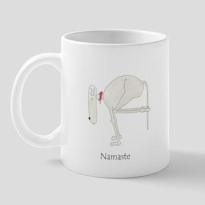 Namaste. Funny, Dog Yoga / Doga 11 oz Ceramic Mug