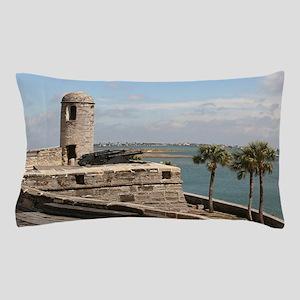 Castel San Marco Fort, St Augustine, F Pillow Case