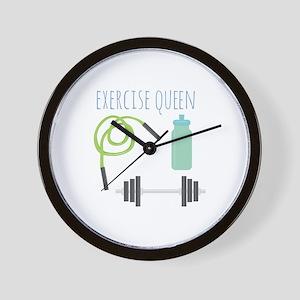 Exercise Queen Wall Clock