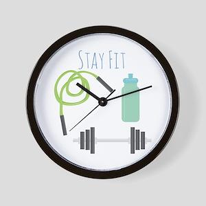 Stay Fit Wall Clock