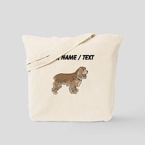Cocker Spaniel (Custom) Tote Bag