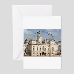 Horse Guards Parade, London, Englan Greeting Cards