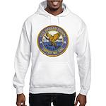 USS HARLAN COUNTY Hooded Sweatshirt