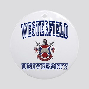 WESTERFIELD University Ornament (Round)