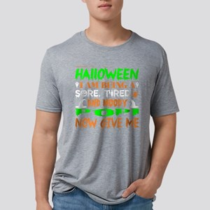 This Halloween Being Tired Moody Popi Cand T-Shirt