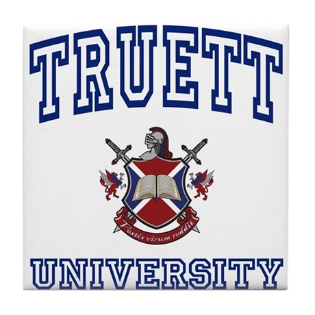 TRUETT University Tile Coaster