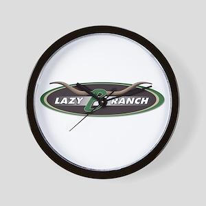 Lazy B Ranch Clock